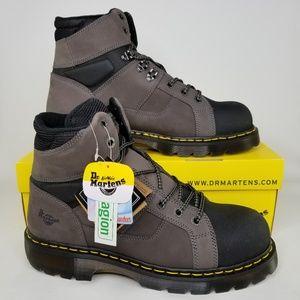 Dr. Martens Ironbridge TT Safety Toe Boots 13 Gray